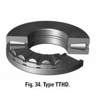 TTVS TTSP TTC TTCS TTCL  thrust BEARINGS T76 T76W
