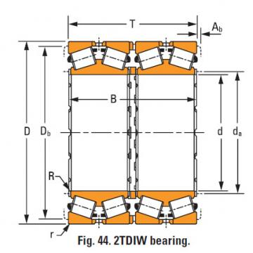 four-row tapered roller Bearings m281349dw m281310d