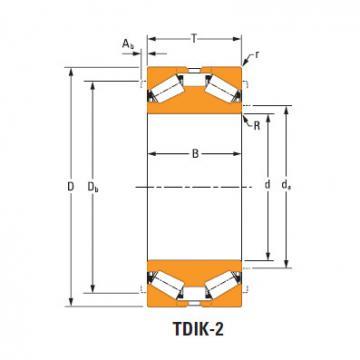 tdik thrust tapered roller bearings nP386878 nP032573