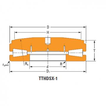 screwdown systems thrust tapered bearings T12040fs-T12040s