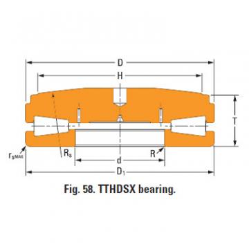 screwdown systems thrust tapered bearings 210TTsf944