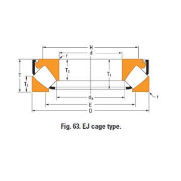 Thrust spherical roller bearing 29348eJ
