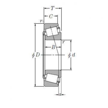 Single Row Tapered Roller Bearings NTN T-M244249/M244210