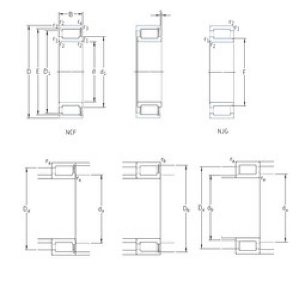 Cylindrical Bearing NCF29/800V SKF #1 image
