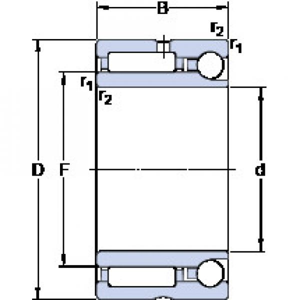 Cylindrical Bearing NKIA 5903 SKF #1 image