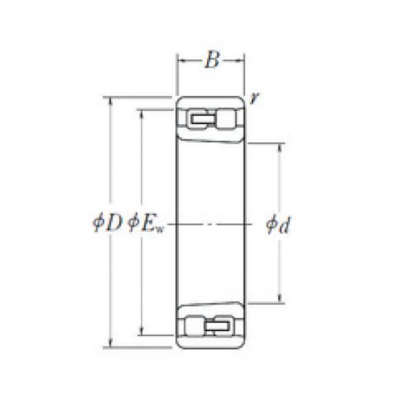 Cylindrical Bearing NN 3038 K NSK #1 image