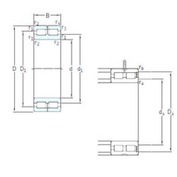 Cylindrical Bearing NNC4916CV SKF #1 image