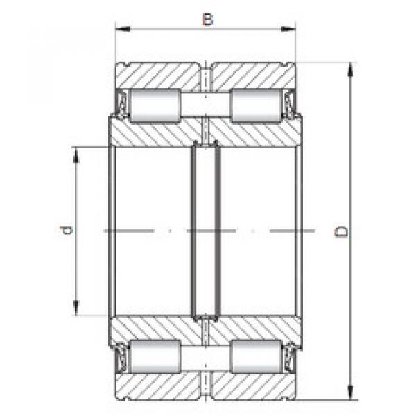 Cylindrical Bearing NNF5017 V ISO #1 image