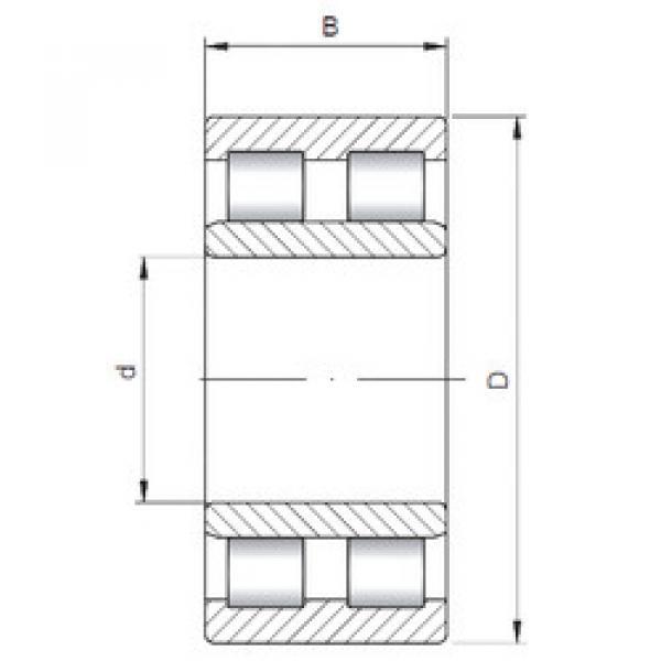 Cylindrical Roller Bearings Distributior NNU6014 V ISO #1 image
