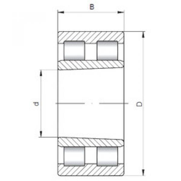 Cylindrical Roller Bearings Distributior NNU4964K V CX #1 image
