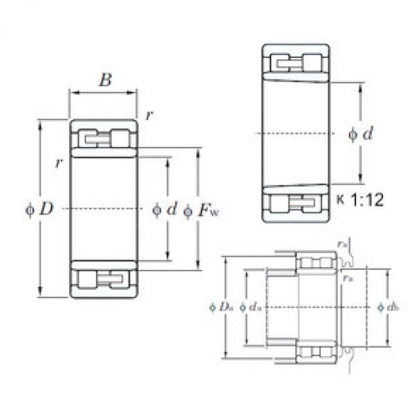 Cylindrical Roller Bearings Distributior NNU4952K KOYO #1 image