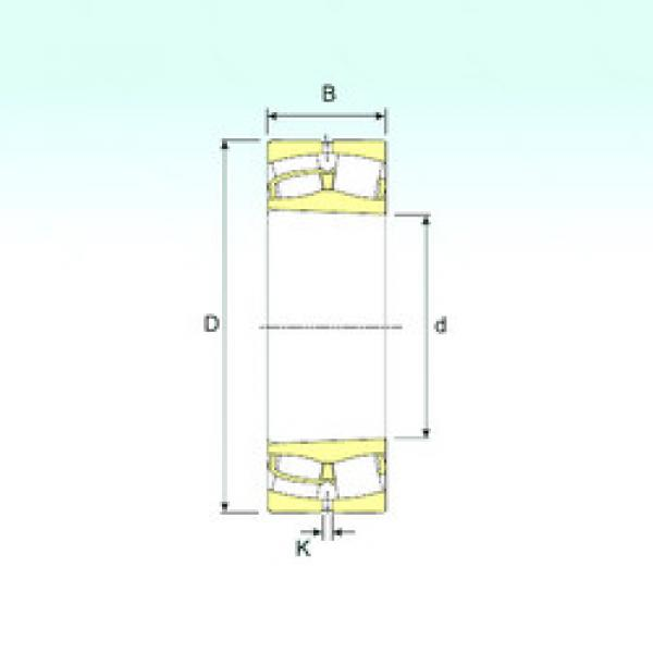 Spherical Roller Bearings 239/630 K ISB #1 image