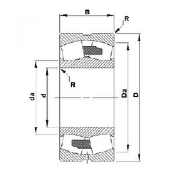 Spherical Roller Bearings 230/600YMB Timken #1 image
