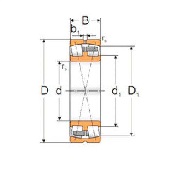 Spherical Roller Bearings 22228 ACMW33 MPZ #1 image