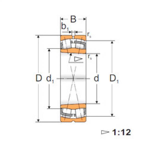 Spherical Roller Bearings 22232 KW33 MPZ #1 image
