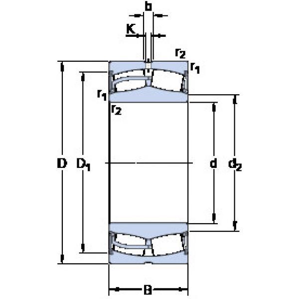 Spherical Roller Bearings 23028-2CS5/VT143 SKF #1 image