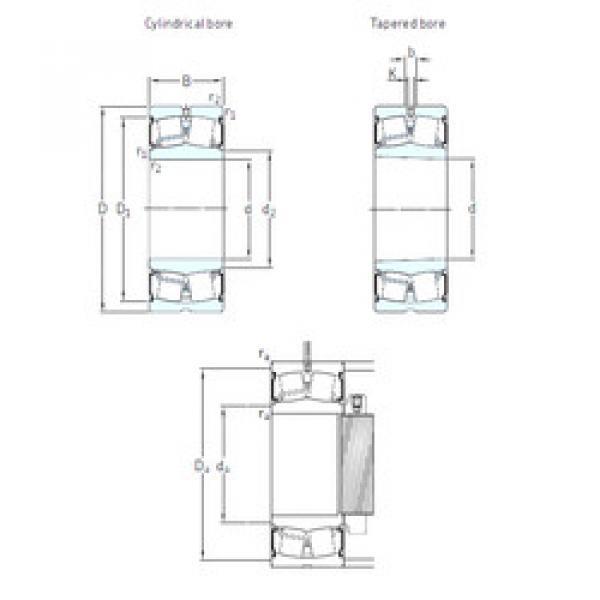 Spherical Roller Bearings 23022-2CS/VT143 SKF #1 image