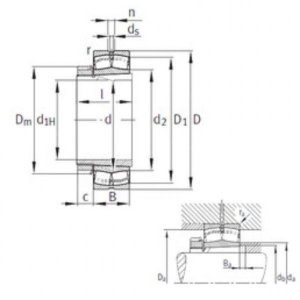 Spherical Roller Bearings 22336-K-MB+H2336 FAG #1 image