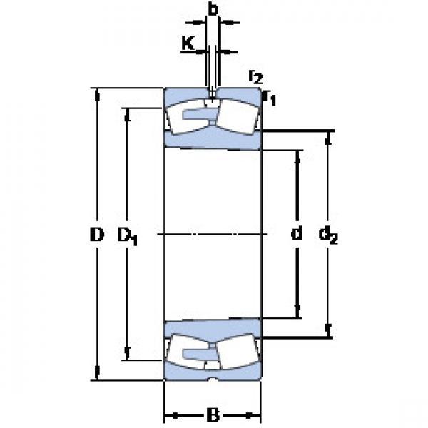 Spherical Roller Bearings 230/1250 CAKF/W33 SKF #1 image