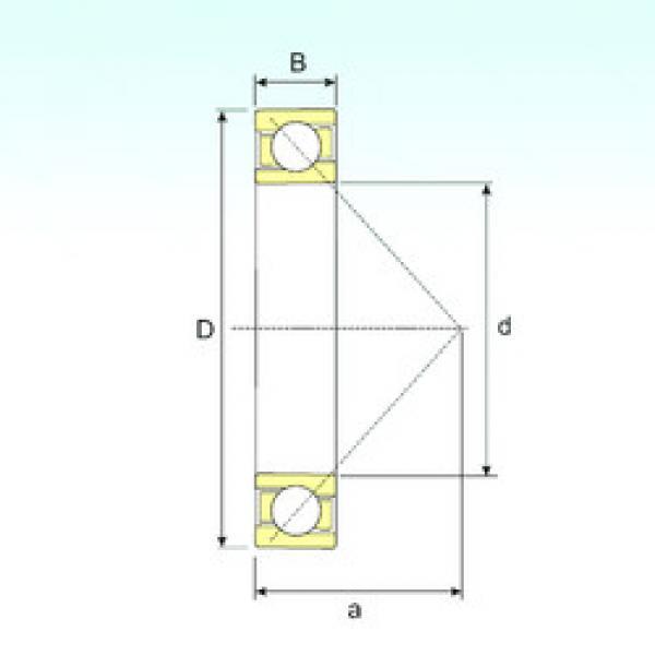 angular contact thrust bearings 7040 B ISB #5 image