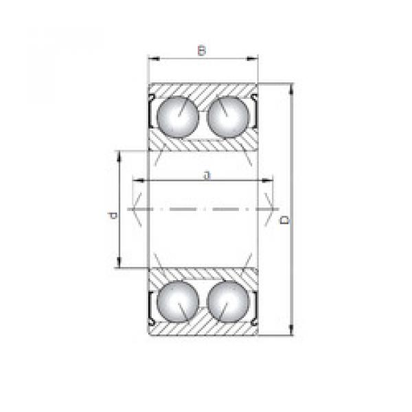 angular contact thrust bearings 3311 ZZ CX #5 image