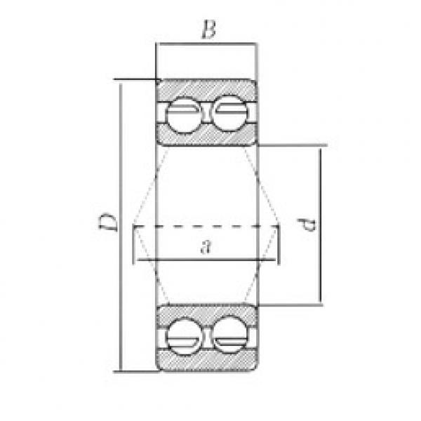 angular contact thrust bearings 3217-2RS CRAFT #5 image