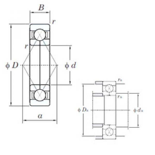 angular contact thrust bearings 6319BI KOYO #5 image