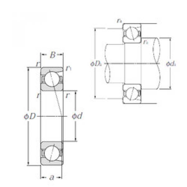 angular contact thrust bearings 7040C NTN #5 image