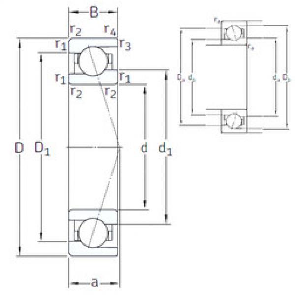 angular contact ball bearing installation VEB 10 /NS 7CE1 SNFA #1 image