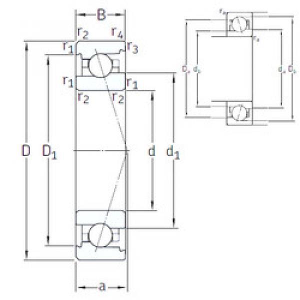 angular contact ball bearing installation VEX 8 /NS 7CE1 SNFA #1 image