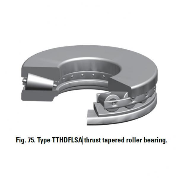 TTHDFLSA THRUST TAPERED ROLLER BEARINGS B–8750–G #1 image