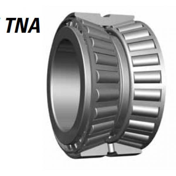 TNA Series Tapered Roller Bearings double-row NA643 632D #2 image