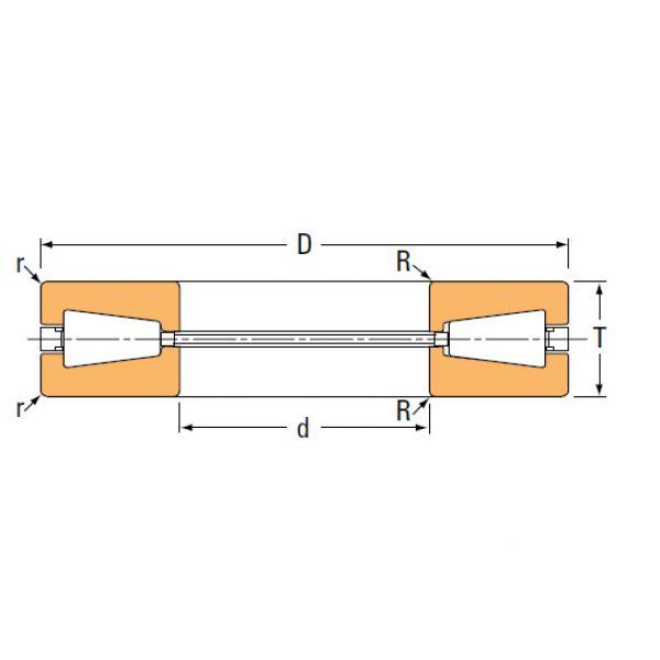 TTVS TTSP TTC TTCS TTCL  thrust BEARINGS T77 T77W #1 image