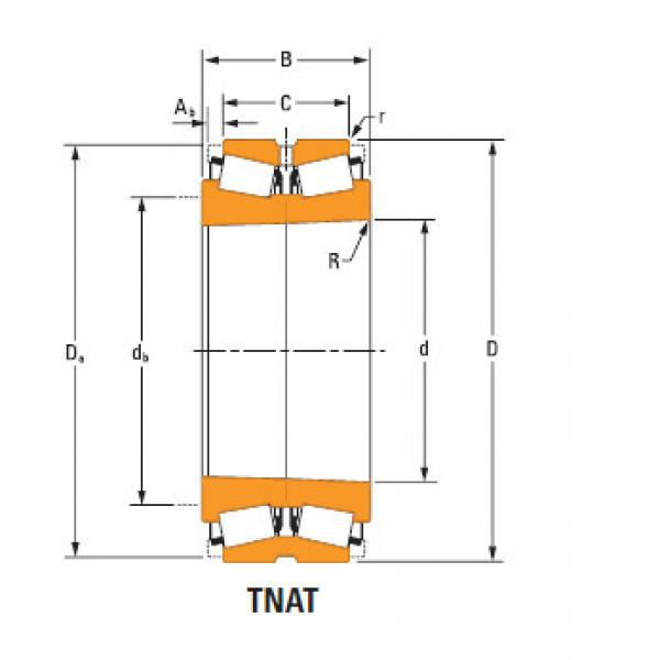 TdiT TnaT two-row tapered roller Bearings 67980Td 67920 #2 image