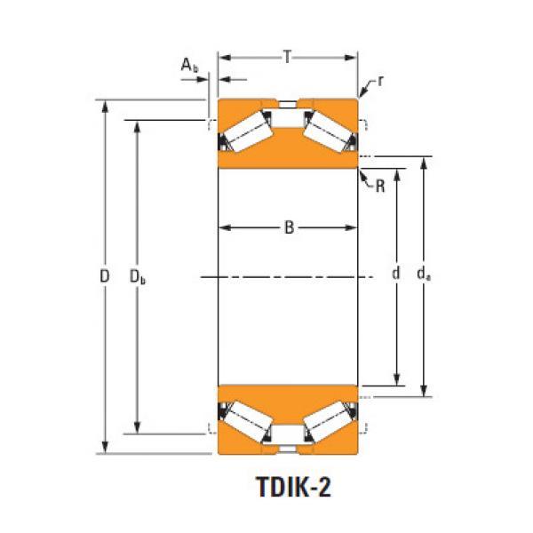tdik thrust tapered roller bearings nP386878 nP032573 #1 image
