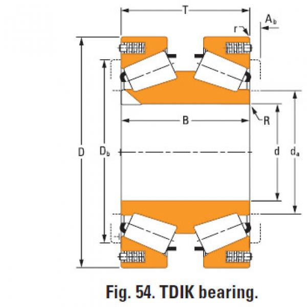 tdik thrust tapered roller bearings nP430670 nP786311 #1 image