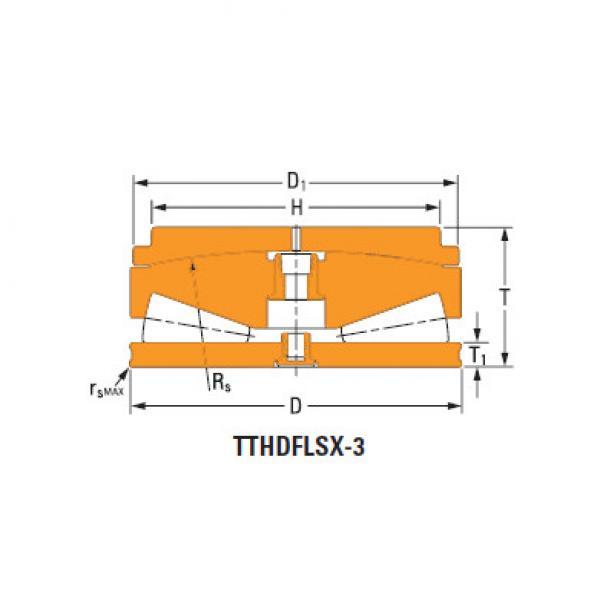 screwdown systems thrust tapered bearings n-21041-B #1 image