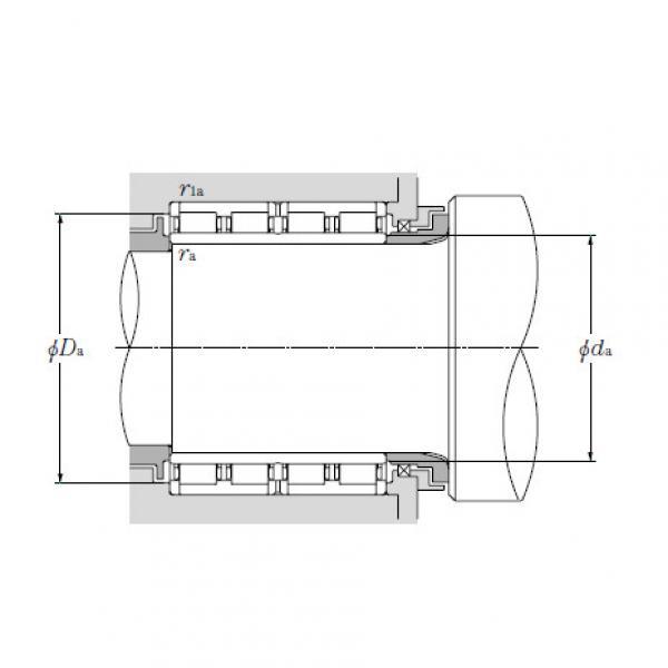 Four Row Cylindrical Roller Bearings NTN 4R8011 #4 image