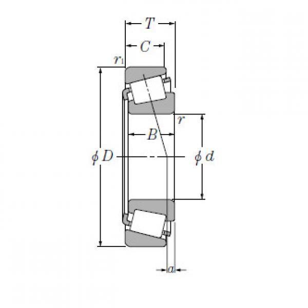 Single Row Tapered Roller Bearings NTN EE117063/117148 #1 image