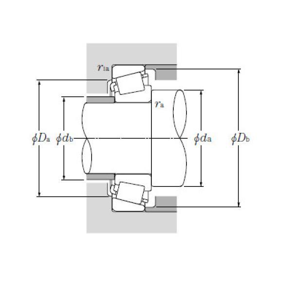 Single Row Tapered Roller Bearings NTN M278749/M278710AG2 #1 image