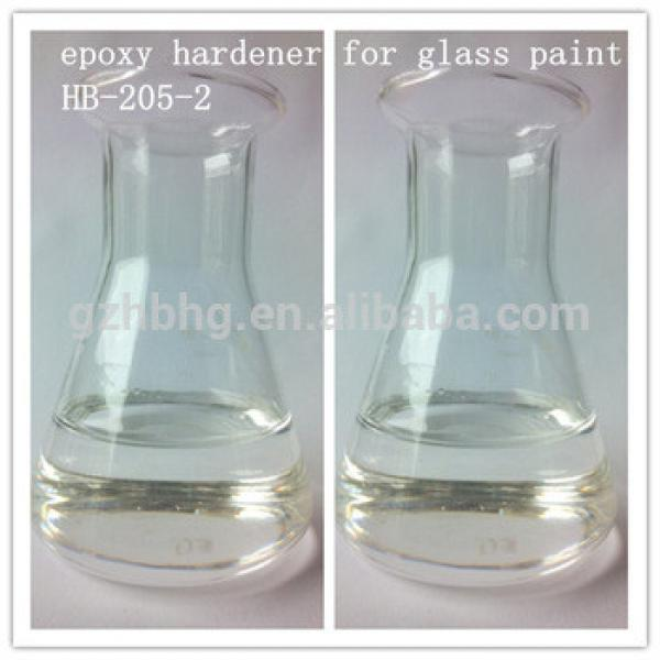 Fast curing epoxy hardener for glass paint HB205-2 #1 image