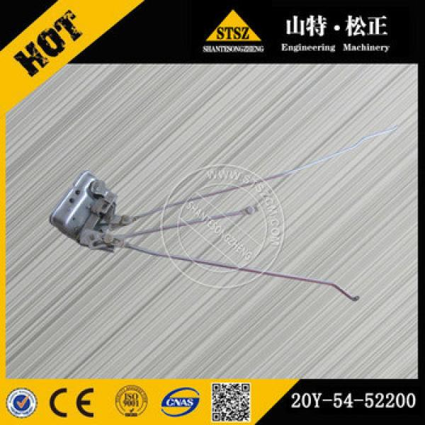 excavator cabin parts price PC220-7 latch 20Y-54-52200 #1 image